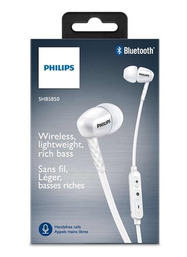 SHB5850WT/00 Mikrofonlu Kablosuz Bluetooth Kulaklık-Philips